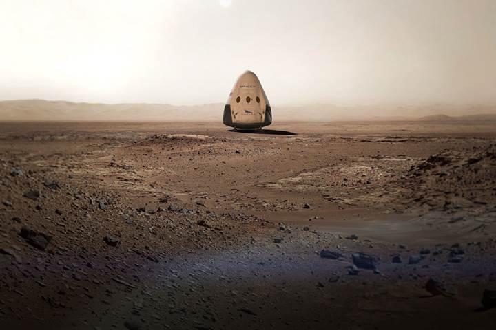2020'de Mars'a gitmeyi planlayan SpaceX iniş yapacağı yeri araştırıyor