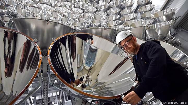 Almanya'dan dünyanın en büyük yapay güneşi