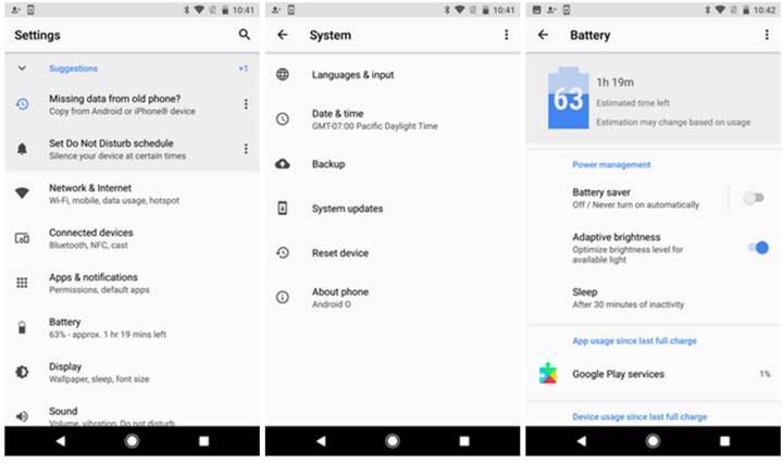 Android 8.0 ile gelen 20 yenilik - Bölüm 3