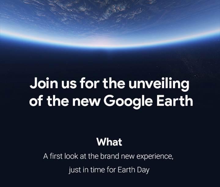 Yeni bir Google Earth tecrübesi geliyor