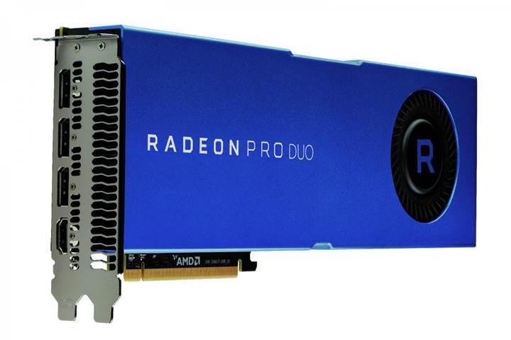 Polaris tabanlı AMD Radeon Pro Duo geliyor