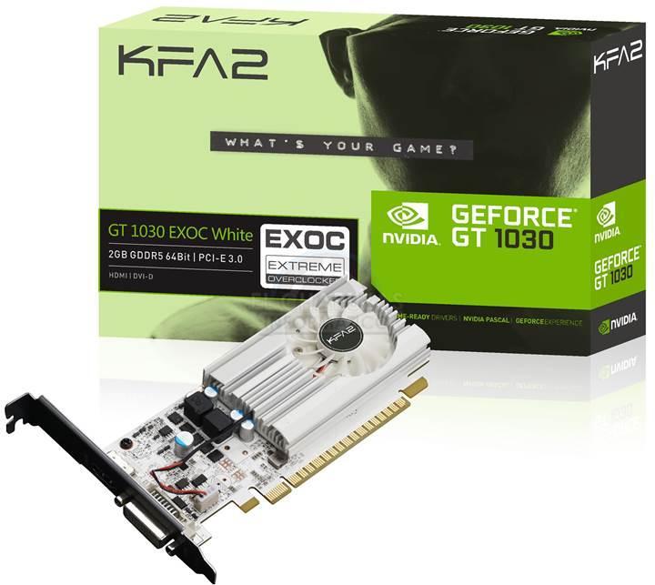 Nvidia GeForce GT 1030 kutu görseli sızdırıldı