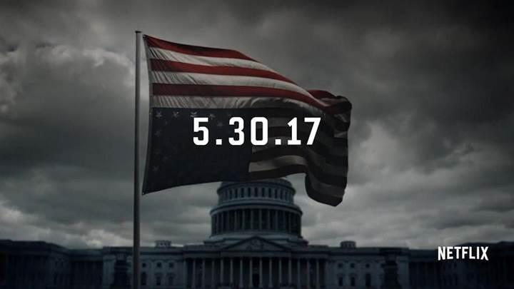 House of Cards'ın yeni sezonundan ilk fragman yayınlandı
