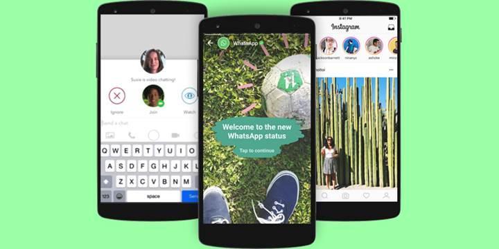 WhatsApp Durum özelliği Snapchat'ten daha fazla kullanıcıya sahip