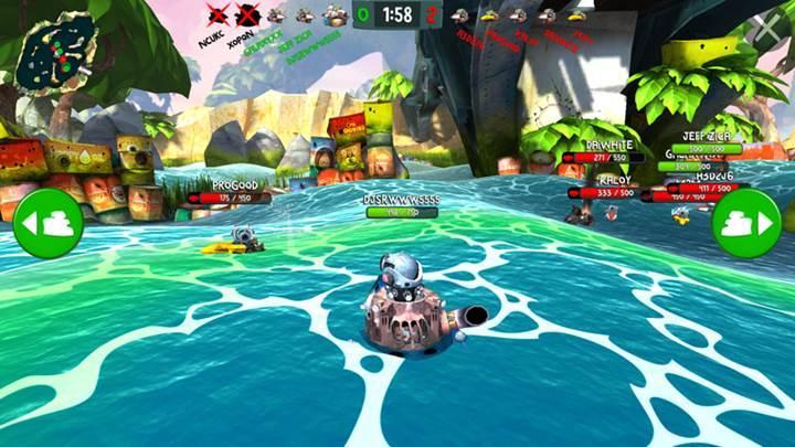 Rovio'nun MOBA türündeki Battle Bay oyunu bu hafta global dağıtımda (Başladı)