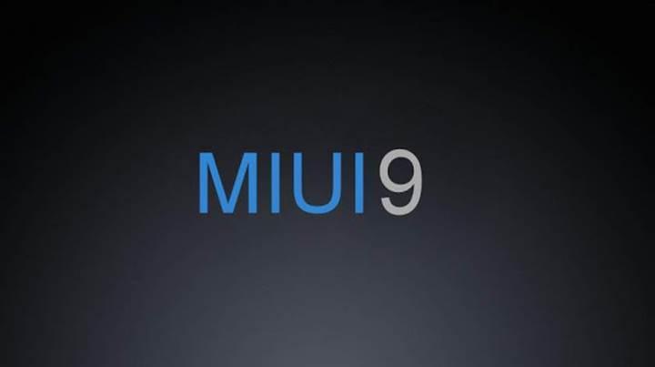 MIUI 9 ile ilgili ilk bilgiler