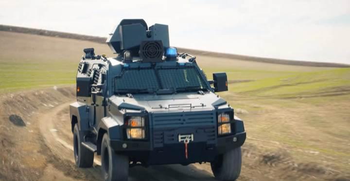 Nurol Makina hafif zırhlı yeni aracını görücüye çıkarıyor