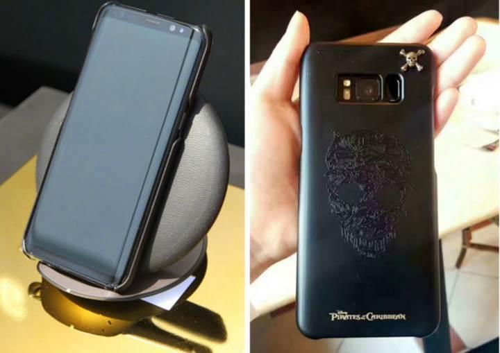 Karayip Korsanları filmine özel Galaxy S8