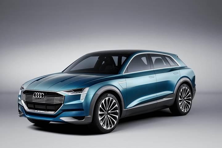 Audi, 2020'ye kadar 3 adet tamamen elektrikli model piyasaya sürecek