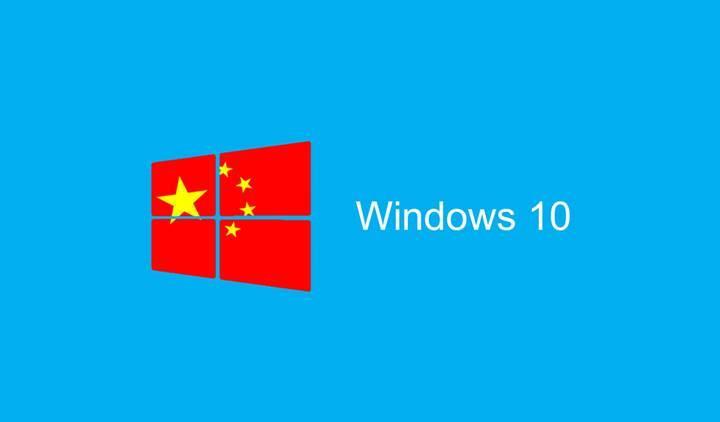 Microsoft, Windows 10 Çin Hükümeti sürümünü duyurdu