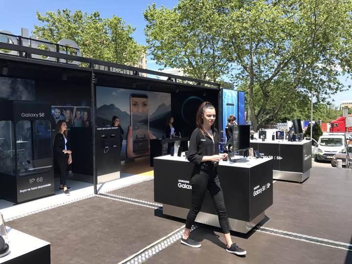 Samsung Sanal Gerçeklik Tırı ziyaretçilerini bekliyor