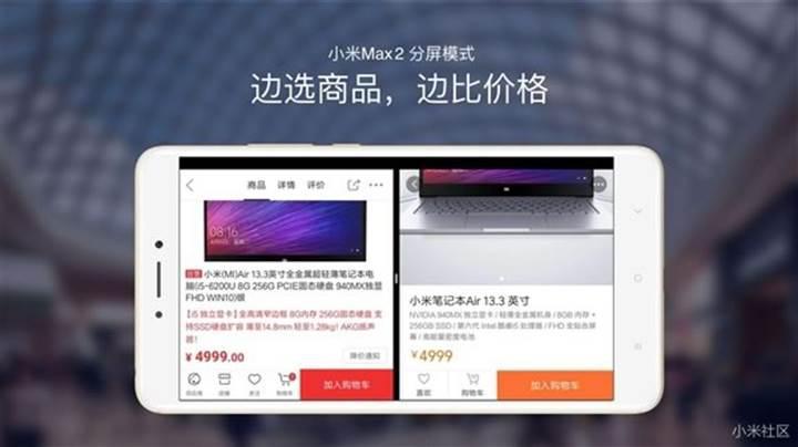 Xiaomi nihayet MIUI 8'e bölünmüş ekran özelliğini getiriyor