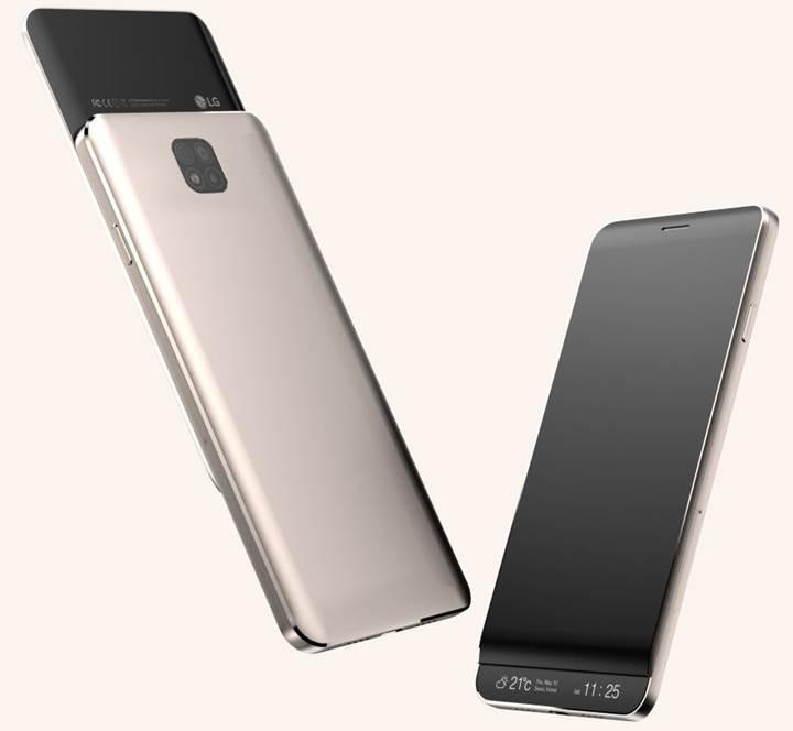 LG V30'un ilk tasarımı ortaya çıktı