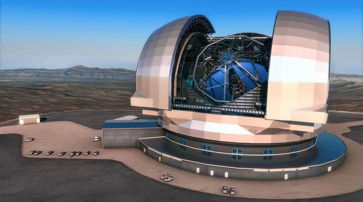Dünyanın en büyük optik teleskobunun yapımına başlandı