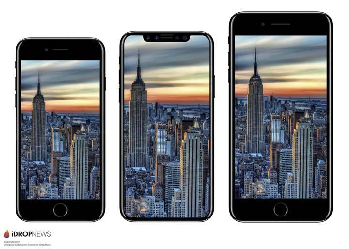 Son sızıntı iPhone 8'in ölçülerini ortaya çıkardı