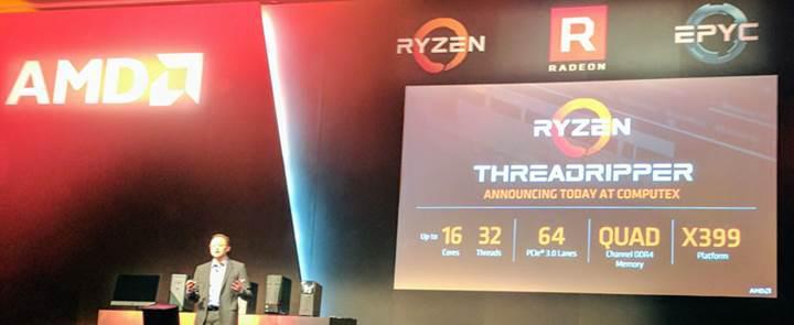 16 çekirdekli AMD Ryzen işlemcisinin fiyatı ortaya çıktı