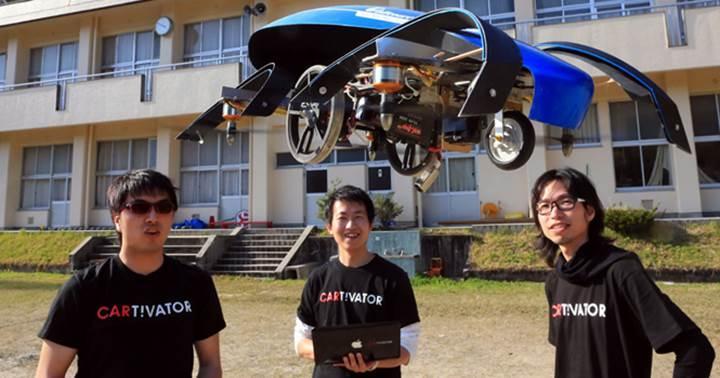 2020 Tokyo Yaz Olimpiyatları'nda olimpiyat ateşini uçan araba yakacak