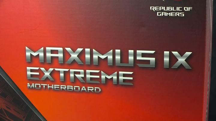 Asus Maximus IX Extreme incelemesi