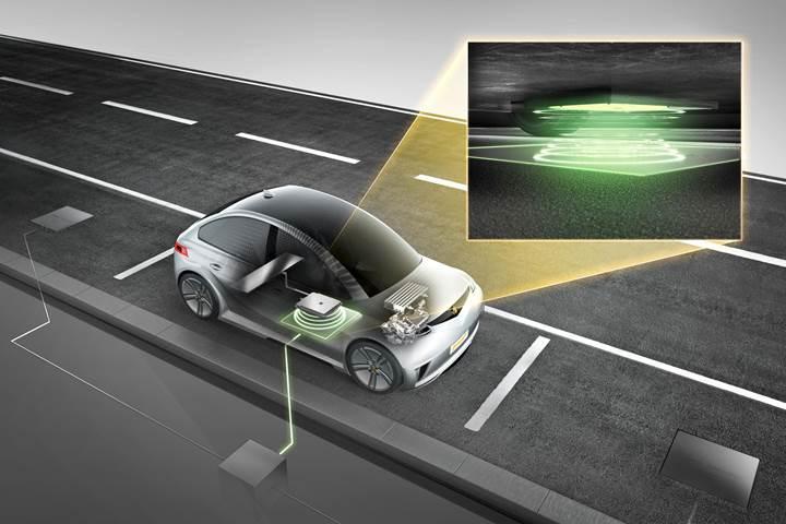 Continental elektrikli araçlar için yeni bir kablosuz şarj yöntemi geliştirdi