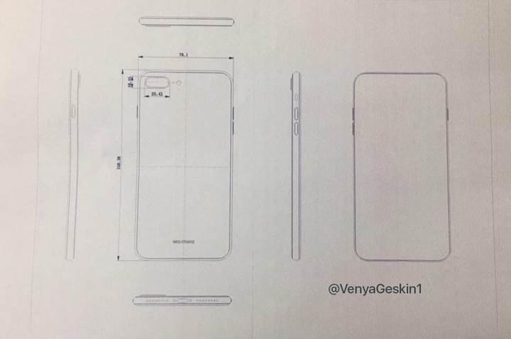 Son şemalar sızdı: iPhone 8, iPhone 7s ve iPhone 7s Plus seri üretimde