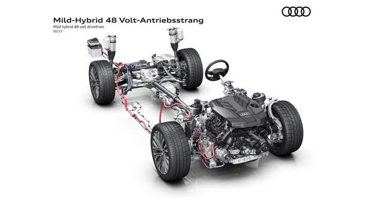 2018 Audi A8, 160 km/h hızla motor kapalı gidebilecek