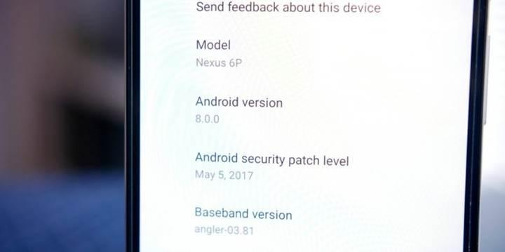 Android O'nun 3. Geliştirici Önizlemesi yayınlandı
