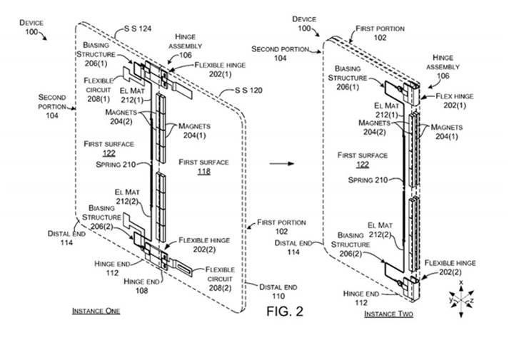 Microsoft'un katlanabilen tabletine ait patent ortaya çıktı