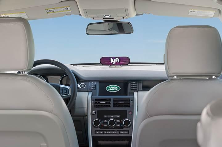 Jaguar Land Rover, Lyft ile otonom filo oluşturacak