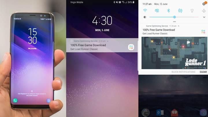 Samsung'un reklam bombardımanı Galaxy S8 sahiplerini kızdırdı