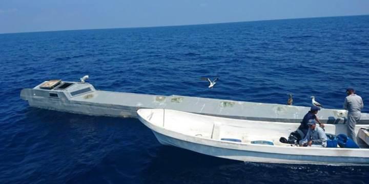 Uyuşturucu kaçakçıları askeri teknolojiye sahip tekne yaptı