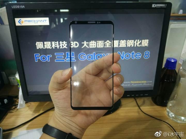 Galaxy Note 8'e ait olduğu iddia edilen basın görseli sızdırıldı
