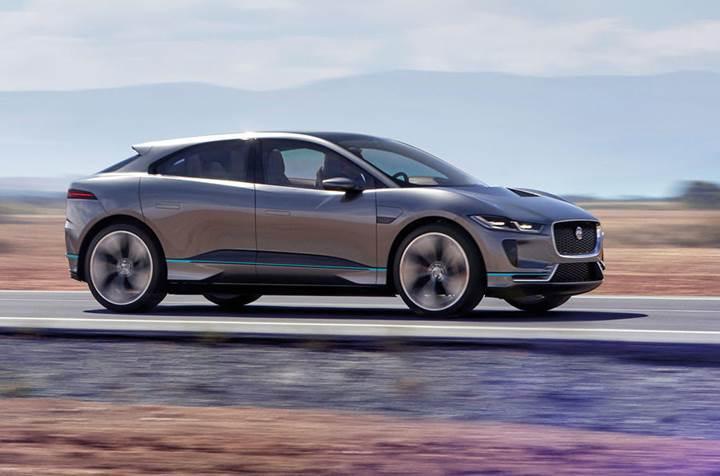 Jaguar, elektrikli I-Pace SUV'un üretimine başladı