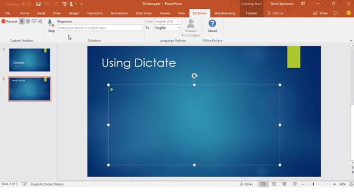 Microsoft Office'e konuşarak yazma özelliği geldi