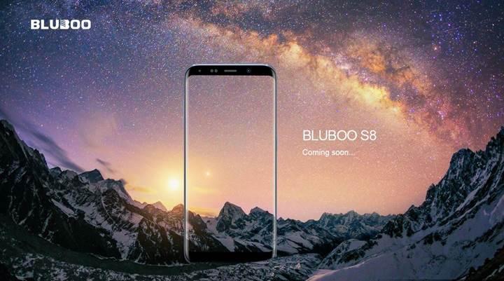 Samsung Galaxy S8'in klonları çoğalıyor: Karşınızda BLUBOO S8
