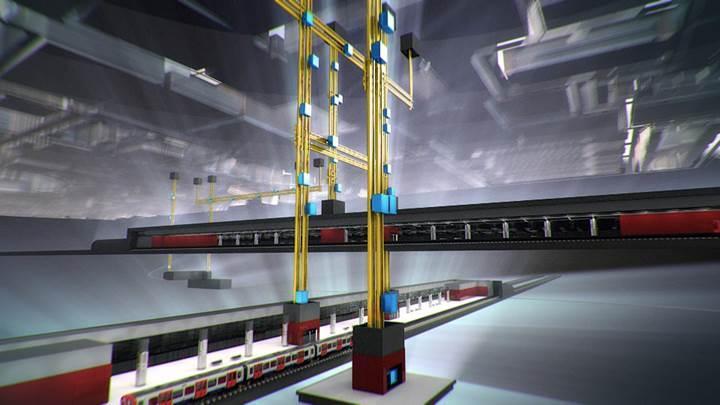 Halat kullanılmayan ilk asansör test edildi
