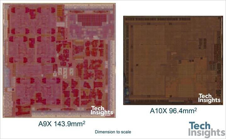 Apple A10X: 10nm sürecine geçiş