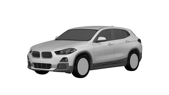 BMW X2'nin tasarım görselleri internette yayınlandı