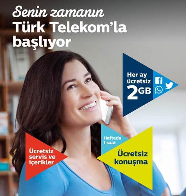 Türk Telekom'dan kadınlara özel konuşma ve internet kampanyası