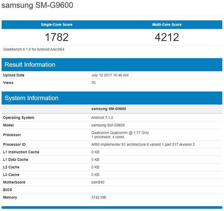 Snapdragon 840'lı ucuz Galaxy S8 Lite yolda
