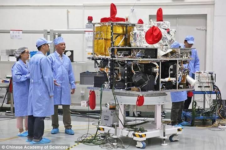 Çin'den ultra güvenli internet deneyi: Foton parçacığı uzaya ışınlandı