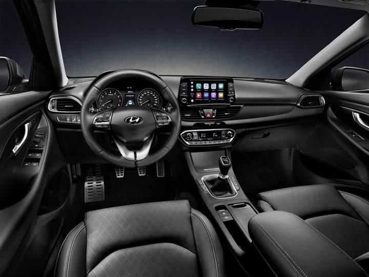 Hyundai'nin yeni i30 Fastback modeli ortaya çıktı
