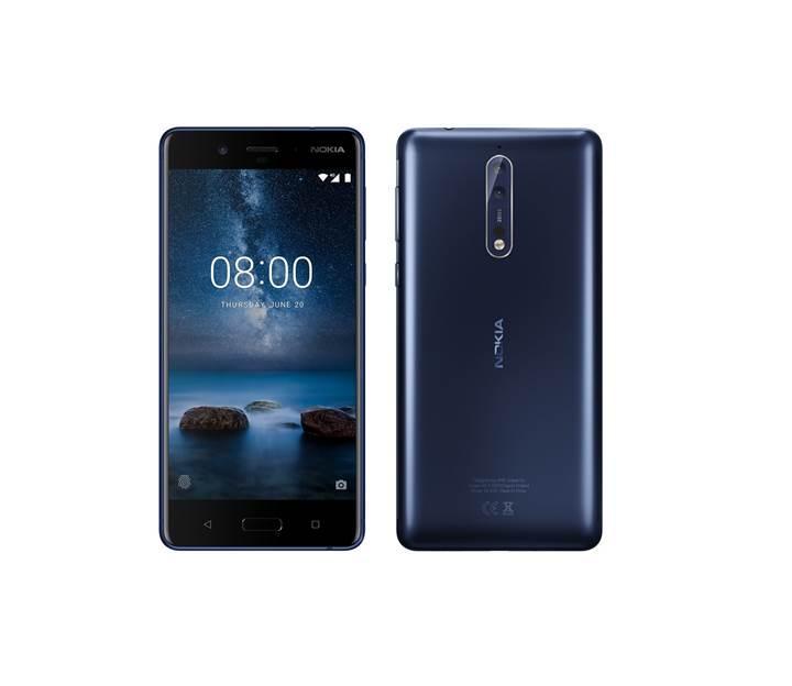 Nokia 8 basın görseli sızdırıldı