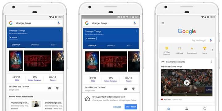 Google uygulamasına Facebook benzeri haber akışı geldi