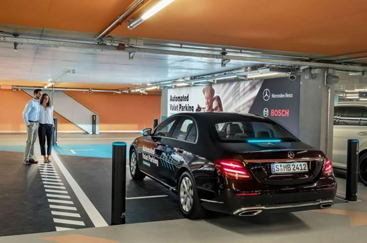 Mercedes'ten vale hizmetini bitirecek hamle: Otonom vale