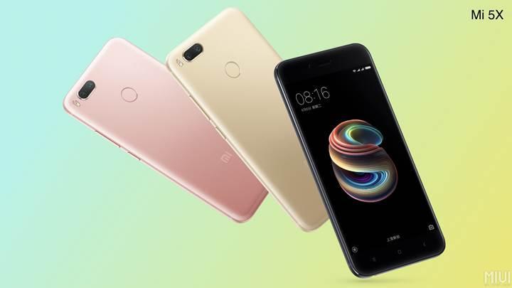 Xiaomi Mi 6 tadında Mi 5X duyuruldu
