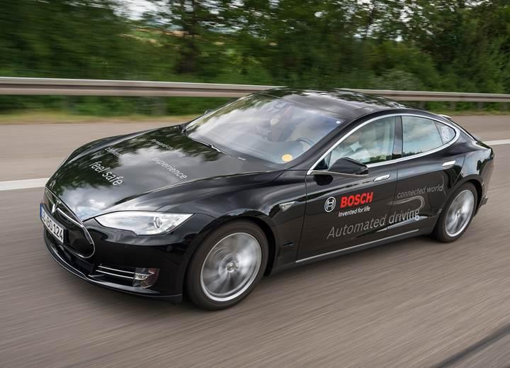 Bosch, otonom sürüş parçaları için 1,1 milyar dolarlık tesis kuruyor