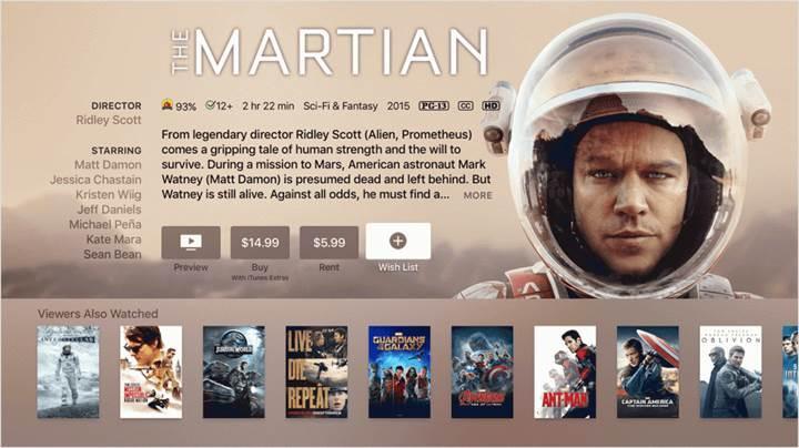 Apple, iTunes Store'da 4K HDR film sunmaya hazırlanıyor