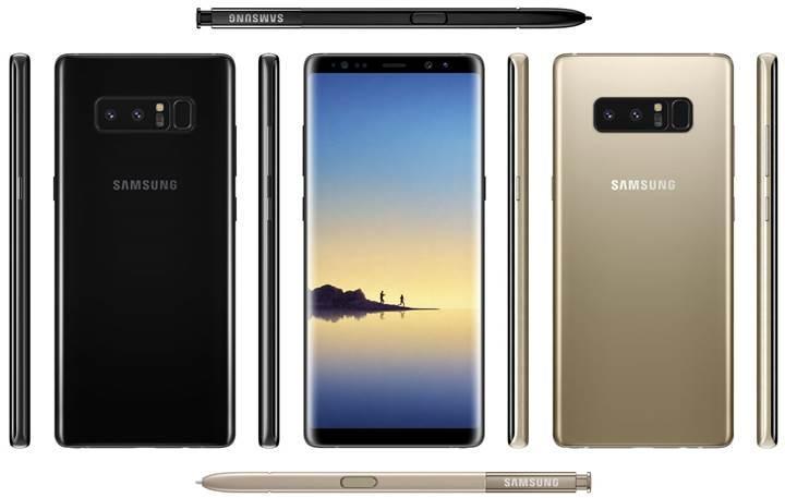 Samsung Galaxy Note 8'in resmi basın görseli yayınlandı