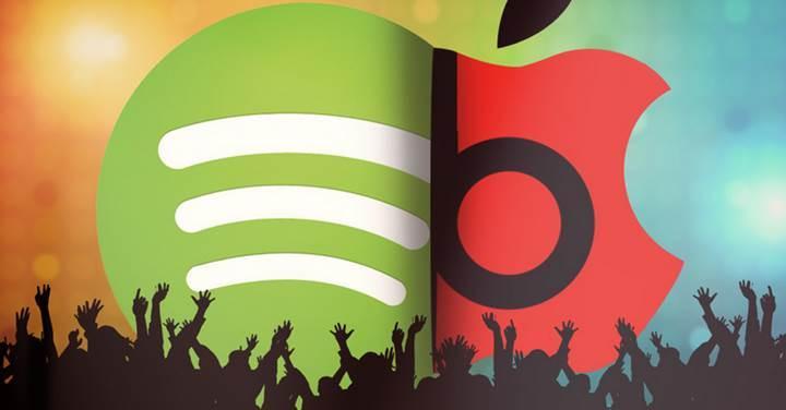 Spotify, 60 milyon ücretli aboneyle Apple Music'i ikiye katladı