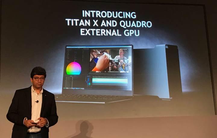 Nvidia harici ekran kartı kutusunu duyurdu